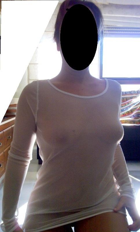 Camiseta blanca de red para ir de pesca, jejeje