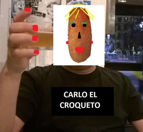 ¿Es cocreto Carlo? ¿Es croqueto? ¿O es una simple croqueta?